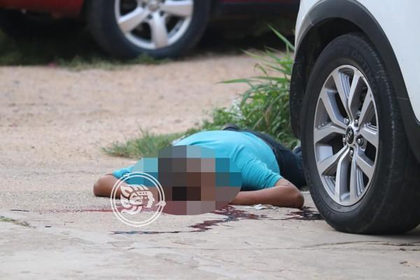 Ejecutado cerca del CBTis de Acayucan, vinculado al secuestro
