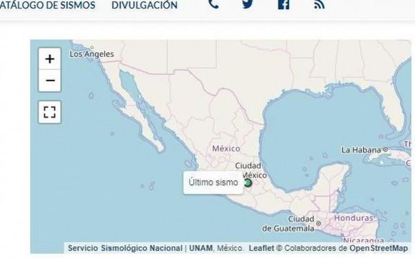 Sismo de 2.5 vuelve a sacudir la Ciudad de México este martes