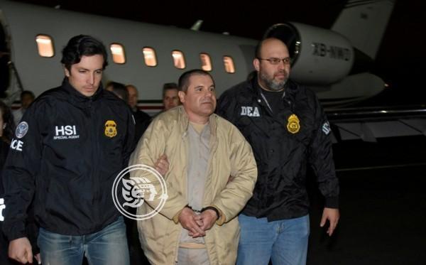 El Chapo es sentenciado a cadena perpetua en EU