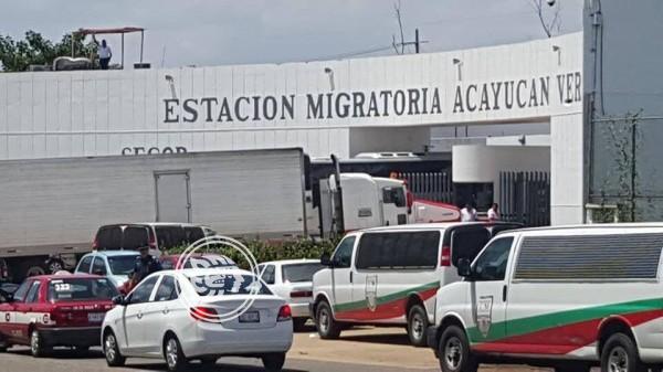 Reclutan personal para remodelar estación migratoria de Acayucan