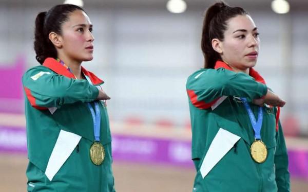 Oro y récord en ciclismo femenil para México en Lima 2019
