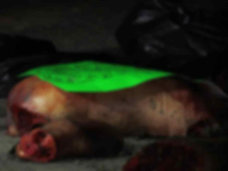 Crimen, imparable en norte de Veracruz; deja descuartizado en Tihuatlán