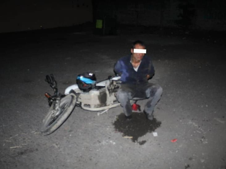 En Infonavit Las Vegas, capturan a ladrón en estado de intoxicación